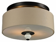 ELK 31371/2 Lilliana Semi Flush Mount 14 Inch Diameter Ceiling Lighting - Aged Bronze
