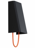 Tech 700WSPLLGOB-LED Pull Large Orange Cord Black Finish Wall Light Fixture