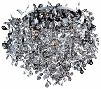 Maxim 24200BCPC Comet Contemporary Crystal Chrome Ceiling Lighting