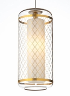 Tech Ecran Modern Style Mini Gold Moroccan Pattern Hanging Light Fixture