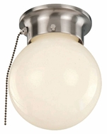 Trans Globe 3606P Transitional Style Pull Chain Ceiling Light With Finish Options