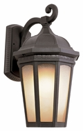 Trans Globe 40151 BK Black 16 Inch Tall Large Outdoor Wall Sconce Lighting
