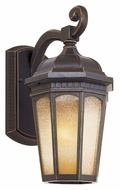 Trans Globe 40151 WB Outdoor Weathered Bronze 16 Inch Tall Large Wall Sconce