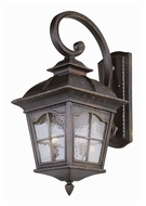 Trans Globe Chesapeake Water Glass Exterior Sconce With Size Options
