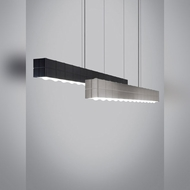 Tech Biza Linear Suspension 46 Inch Wide Contemporary Style LED Island Lighting Fixture
