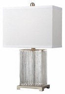 Dimond HGTV140 24 Inch Tall Clear Contemporary Table Lighting