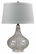 Dimond HGTV147 24 Inch Tall Clear Table Top Lighting - 24 Inches tall