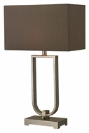 Dimond HGTV228 Contemporary Silver Leaf 30 Inch Tall Lighting Table Lamp