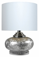 Dimond HGTV234 19 Inch Tall Frost Finish Table Top Lamp - Modern