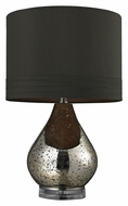 Dimond HGTV244 Contemporary Gold Mercury Plated Bedroom Table Lamp