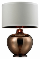 Dimond HGTV273 28 Inch Tall Contemporary Bronze Plated Glass Lamp