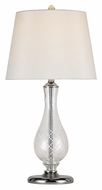 Trans Globe RTL-8153 PC 24 Inch Tall Transitional Living Room Table Lamp