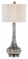 Trans Globe RTL-8784 Transitional Style Silver Mercury Glass Table Top Lamp