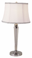 Trans Globe CTL-311 28 Inch Tall Transitional Polished Chrome Table Lighting