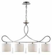 Trans Globe 70394 PC 29 Inch Wide Traditional 4 Lamp Kitchen Island Lighting