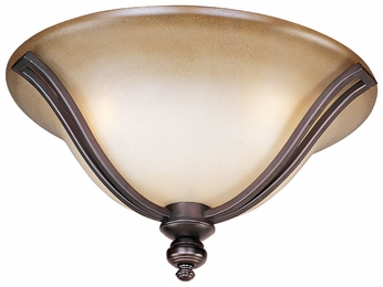 Maxim 10169WSOI Madera Oil-Rubbed Bronze Flush Mount Lighting Fixture