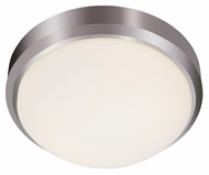 Trans Globe PL-13881 BN Medium 13 Inch Diameter Brushed Nickel Overhead Lighting
