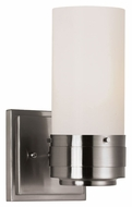 Trans Globe 2912 BN 10 Inch Tall Brushed Nickel Sconce Lighting - Transitional