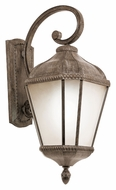 Trans Globe PL-5151 Exterior 27 Inch Tall Large Burnished Rust Wall Lighting