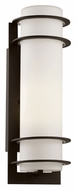 Trans Globe 40205 BK Large Craftsman 16 Inch Tall Exterior Wall Light Sconce