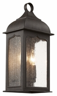 Trans Globe 40230 ROB 15 Inch Tall Rubbed Oil Bronze Exterior Lighting Sconce - Small