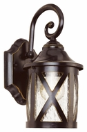 Trans Globe 5129 ROB 12 Inch Tall Traditional Rubbed Oil Bronze Lantern Sconce