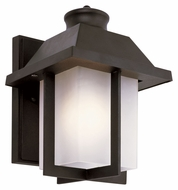 Trans Globe 40110 Small 9 Inch Tall Outdoor Sconce Lighting - Transitional