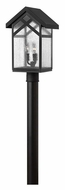 Hinkley 1791BK Holbrook Outdoor 19 Inch Tall 3 Lamp Post Lighting