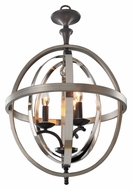 Kalco 6593 Rothwell Contemporary 17 Inch Wide 3 Candle Foyer Lighting