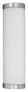 AFX FUW213SNEC 19 Inch Tall Contemporary Satin Nickel Outdoor Sconce