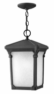 Hinkley 1352MB Stratford Museum Black 15 Inch Tall Outdoor Hanging Light Fixture