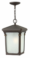 Hinkley 1352OZ Stratford Outdoor 15 Inch Tall Drop Lighting - Oil Rubbed Bronze