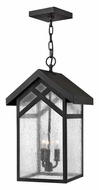 Hinkley 1792BK Holbrook Outdoor Black Finish 19 Inch Tall Hanging Light Fixture