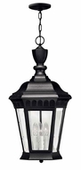 Hinkley 1702BK Camelot 25 Inch Tall Black Outdoor Drop Ceiling Lighting