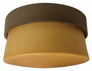 AFX ARMF1F13RBECT 7 Inch Diameter Flush Mount Oil Rubbed Bronze Ceiling Lamp