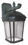 AFX BNSW20045LBKCS Black 13 Inch Tall Transitional LED Outdoor Sconce