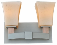 Kalco 6512 Boston 11 Inch Wide Transitional Bathroom Sconce - Tarnished Silver