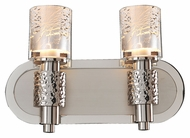 Kalco 6272 Ashington Transitional 13 Inch Wide Bathroom Lighting - Polished Nickel