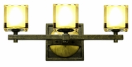 Kalco 2933 Swindon Transitional 19 Inch Wide Vanity Light - Florence Gold