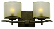 Kalco 2992 Stapleford Transitional 17 Inch Wide Bathroom Wall Sconce - 2 Lamps
