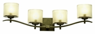Kalco 2994 Stapleford 4 Lamp Tuscan Sun Bathroom Vanity Lighting