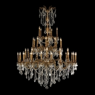 Worldwide W83312FG54 Windsor Extra Large 45 Inch Diameter Dining Room Chandelier