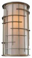 Kalco 6481 Stanford 14 Inch Tall Contemporary Tarnished Silver Vertical Wall Sconce