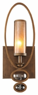 Kalco 6551 Sandhurst Modern Etruscan Bronze 22 Inch Tall Sconce Lighting