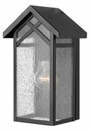Hinkley 1797BK Holbrook Small 12 Inch Tall Black Finish Outdoor Wall Lighting Fixture