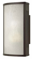 Hinkley 2110BZ District Modern Small 12 Inch Tall Outdoor Wall Lighting - Bronze