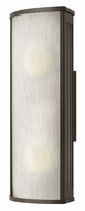 Hinkley 2114BZ District Medium Contemporary Exterior Wall Light Sconce - 18 Inches Tall