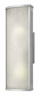 Hinkley 2114TT District Medium 18 Inch Tall Titanium Finish Outdoor Wall Lamp