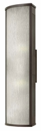 Hinkley 2115BZ District Large Bronze Finish 24 Inch Tall Exterior Wall Sconce Lighting