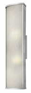 Hinkley 2115TT District Large Outdoor 24 Inch Tall Modern Wall Sconce Light - Titanium